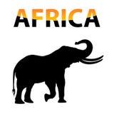 Vettore Africa Fotografie Stock Libere da Diritti