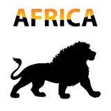 Vettore Africa Fotografia Stock Libera da Diritti