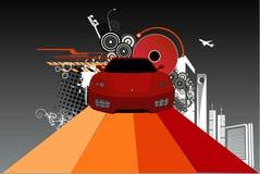 Vettore astratto dell'automobile Fotografia Stock Libera da Diritti