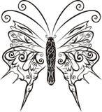 Vettore astratto della farfalla Fotografie Stock Libere da Diritti