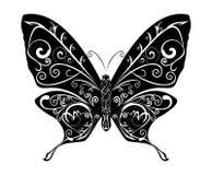 Vettore astratto della farfalla Fotografia Stock Libera da Diritti