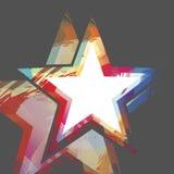 Vettore astratto della priorità bassa della stella Immagine Stock Libera da Diritti