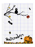 Vettore astratto di Halloween Fotografia Stock Libera da Diritti