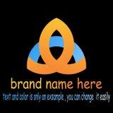 Vettore astratto di logo del triangel royalty illustrazione gratis