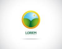 Vettore astratto Logo Design Template Fotografia Stock Libera da Diritti