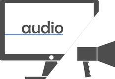 Vettore - audio Immagine Stock Libera da Diritti