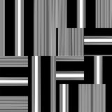 Vettore in bianco e nero del modello Fotografia Stock