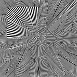 Vettore in bianco e nero del modello Immagini Stock