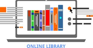 Vettore - biblioteca online Immagini Stock Libere da Diritti