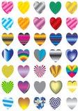 Vettore, biglietto di S. Valentino, decorazione, ornamento, petalo, amore, illustrati royalty illustrazione gratis