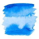 Vettore blu del fondo dell'estratto dell'acquerello illustrazione di stock