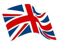 Vettore BRITANNICO dell'icona della bandiera Fotografie Stock
