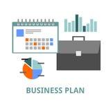 Vettore - business plan Fotografia Stock Libera da Diritti
