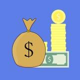 Vettore capitale finanziario Fotografia Stock