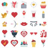 Vettore colorato icone di vettore ed icone isolate royalty illustrazione gratis