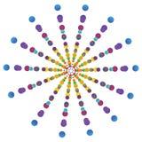 Vettore colorfully Fotografie Stock Libere da Diritti