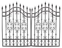 Vettore completo del cancello del ferro Immagine Stock Libera da Diritti