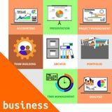 Vettore - concetto di affari Immagine Stock