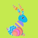 Vettore - coniglio felice di Pasqua illustrazione vettoriale
