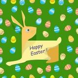 Vettore - coniglio felice di Pasqua royalty illustrazione gratis