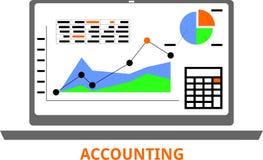 Vettore - contabilità Immagini Stock Libere da Diritti