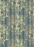 Vettore d'annata del fondo del modello Decorazioni d'avanguardia dell'ornamento nel reticolato dell'oro Fotografie Stock