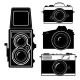 Vettore d'annata della macchina fotografica della macchina fotografica Fotografia Stock Libera da Diritti