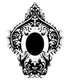 Vettore d'annata della struttura di Rich Baroque Calligrafia a filigrana dell'elemento di progettazione della decorazione Decoraz royalty illustrazione gratis