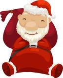 Vettore del Babbo Natale Immagini Stock