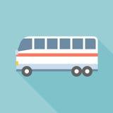 Vettore del bus Immagini Stock Libere da Diritti