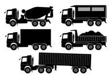 Vettore del camion Immagini Stock