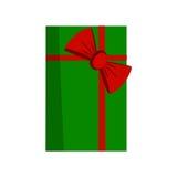 Vettore del contenitore di regalo Fotografia Stock