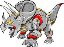 Vettore del dinosauro del Triceratops illustrazione vettoriale