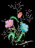 Vettore del fiore Immagini Stock Libere da Diritti