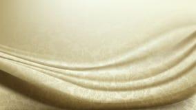 Vettore del fondo modellato del tessuto di seta dell'avorio Fotografia Stock