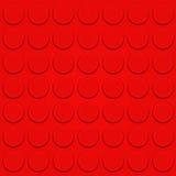 Vettore del mattone di Lego Fotografie Stock