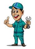 Vettore del meccanico Immagini Stock