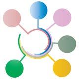 Vettore del modello di progettazione di Infographic Fotografia Stock