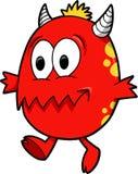 Vettore del mostro del diavolo Fotografie Stock Libere da Diritti