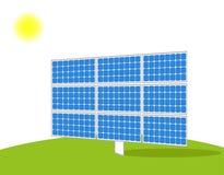Vettore del pannello solare immagini stock