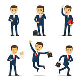 Vettore del personaggio dei cartoni animati dell'avvocato o dell'avvocato Fotografie Stock
