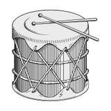 Vettore del tamburo Fotografie Stock