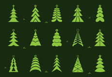 Vettore dell'albero di Natale Fotografia Stock Libera da Diritti