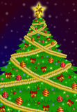 Vettore dell'albero di Natale Immagine Stock Libera da Diritti