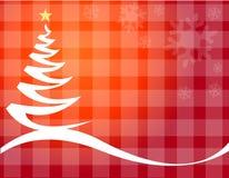 Vettore dell'albero di Natale Fotografie Stock Libere da Diritti