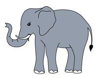 Vettore dell'elefante Immagini Stock