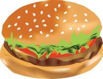 Vettore dell'hamburger illustrazione di stock