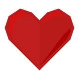 Vettore dell'icona del cuore Fotografia Stock Libera da Diritti