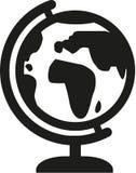 Vettore dell'icona del globo illustrazione vettoriale