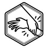 Vettore dell'icona di aiuto royalty illustrazione gratis